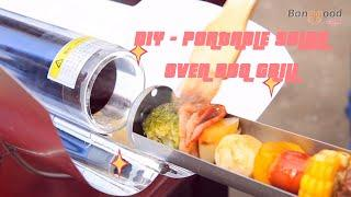 DIY - Portable Solar Oven BBQ Grill