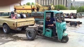 Cushman Truckster EV Conversion Tow-Tuk
