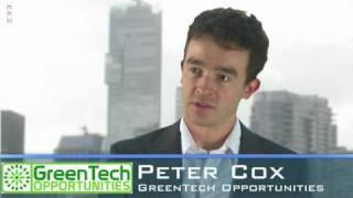 Industry Watch: Al Chats About Green Technologies With Peter Cox