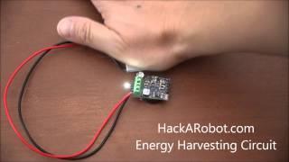 Energy Harvesting Circuit (HackARobot.com)