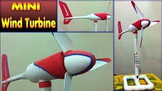 homemade mini wind turbine diy how to make free energy generator small wind mill motor