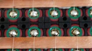 UK DIY Powerwall - 18650 Tesla style battery - fuses- Part 7
