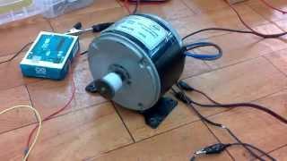 Control de motor 24v Mosfet Arduino PWM