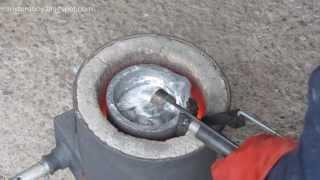 Metalcasting at Home Part 36, Degassing plunger