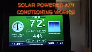 Solar Air Conditioning WORKS
