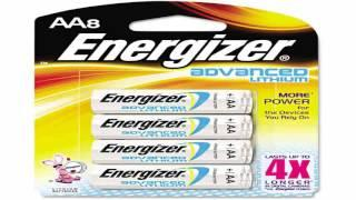 Energizer Advanced Lithium Batteries AAA Size 8 Count