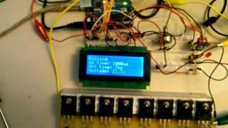 Arduino 8 Circuit Bedini Solid State SSG with Capacitor Pulse Discharge