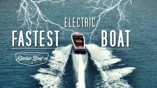 Electric boats are future | CEBC The electric boat leader | Bruce 22 & Fantail 217