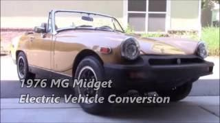 MG Midget EV Conversion