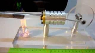Laminar  Flow Stirling Engine (HOT AIR ENGINE) -----MONI'S NO.1