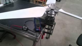DIY wind turbine generator testing