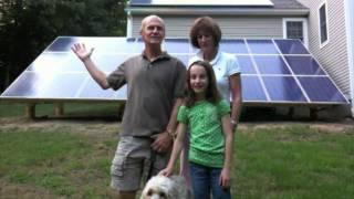 BeFree Solar  Panels on a home using Enphase Micro Inverters