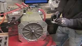 REBBL Siemens AC motor DMOC controller kit demonstration