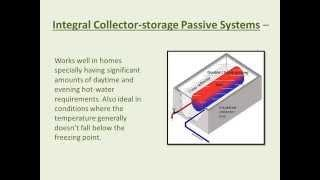Types Of Solar Water Heating Systems