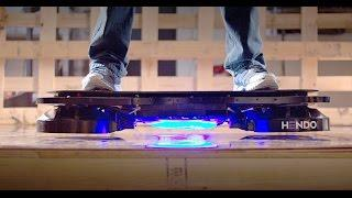 Hendo Hoverboard: The World's First Real Hoverboard