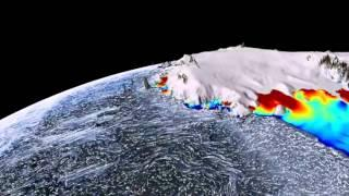 Antarctic ice melting from below, reveals Nasa satellites (April 26, 2012)