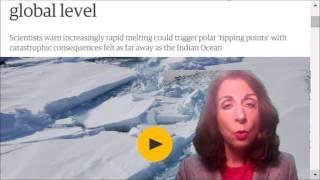 Arctic ice melt could spark uncontrollable global climate changes