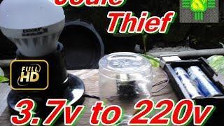 cara membuat joule thief 220v