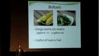 Algae: The Next Green Biofuel - Scott Williams, PhD #IB12