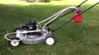 Homemade GEET Lawnmower