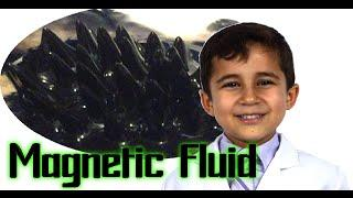 How to make Magnetic Fluid (Ferrofluid) - Kid Science Experiment