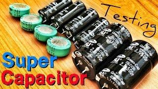 Supercapacitors vs Batteries Charge/Discharge Capacity Rate