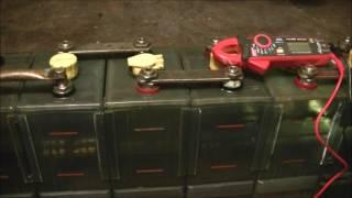 Bringing the Edison 240 Batteries Online