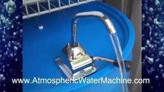 MAKE WATER FROM AIR! - WATCH THESE ATMOSPHERIC WATER MACHINES  - PATENTED TECHNOLOGY