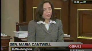 Senator Cantwell speech on plug-in electric vehicles - 2/5/09