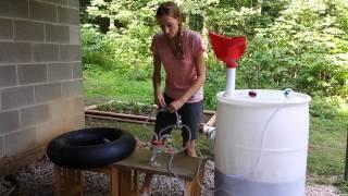Heather's Small Scale Biodigester