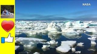 Arctic Ice melting at an Alarming Rate