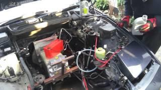 BMW E31 840CI EV Conversion 16 : Power Steering 01