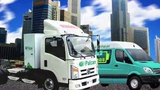 PALCAN (Medium Size Delivery Truck) Methanol Fuel Cell-Electric Vehicle