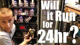 Diy Tesla Powerwall ep53 48v Ups 24hr Test Run 2nd Try