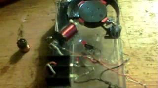 Magnet to Hall timing method - Pulse motor