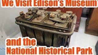 Thomas Edison Museum, National Historical Park, West Orange, NJ -  The Original Maker / Inventor
