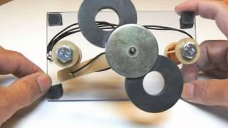 Amazing Magnet Motor/Gen part 2.1