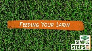 Scotts Simple Steps: Feeding Your Lawn
