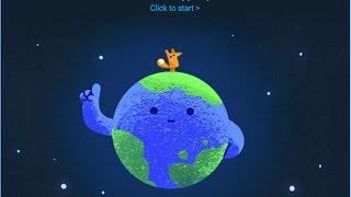 Earth Day tips and facts on Google Doodle: Let's Make a Happier Planet