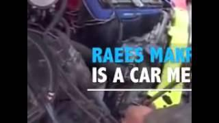 Raees Makrani Water Car Inventor