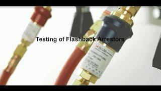 Testing Unit for Flashback arrestors PVGD