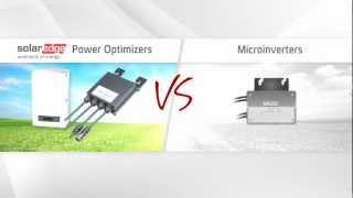 A comparison between SolarEdge power optimizers and microinverters