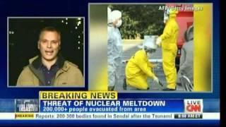 13 March: Japanese reactor scare-mongering begins from anti-nuclear propaganda politicians