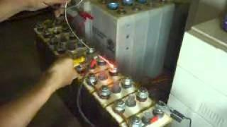 NIFE Battery test Load 350 Amp