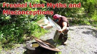 FRESNEL LENS MYTHS about solar projects and misconceptions
