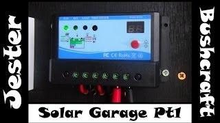 Simple DIY Home Solar Project - Off Grid Garage - Part 1
