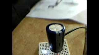 Small but powerful super capacitor testing