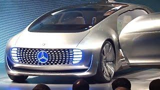 Mercedes F 015 World Premiere In Detail Walk Around Mercedes Self Driving Car CARJAM TV 2015