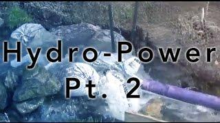 Micro Hydro Power with Turgo generator Part 2