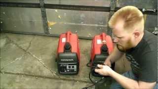Homemade 30A Honda Eu2000i Parallel Kit Generator